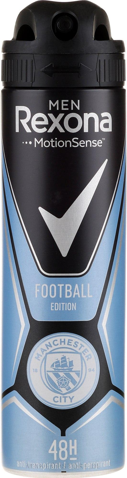 Deospray Antitranspirant - Rexona Manchester City Spray — Bild 150 ml