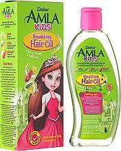 Düfte, Parfümerie und Kosmetik Pflegendes Haaröl für Kinder mit Amla, Olive und Mandel - Dabur Amla Kids Nourishing Hair Oil