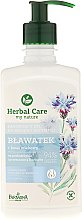 Düfte, Parfümerie und Kosmetik Beruhigendes Intim-Waschgel mit Kornblume - Farmona Herbal Care