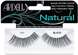 Künstliche Wimpern - Ardell Natural Eye Lashes Black 111 — Bild N1