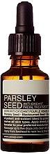 Düfte, Parfümerie und Kosmetik Gesichtsöl - Aesop Parsley Seed Anti-Oxidant Facial Treatment