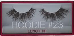 Düfte, Parfümerie und Kosmetik Künstliche Wimpern №23 - Huda Beauty Hoodie Lengthie Lash 23