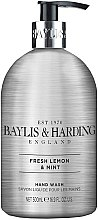 Düfte, Parfümerie und Kosmetik Flüssige Handseife Fresh Lemon & Mint - Baylis & Harding Elements Fresh Lemon & Mint Hand Wash