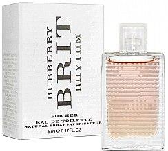 Düfte, Parfümerie und Kosmetik Burberry Brit Rhythm For Her - Eau de Toilette (Mini)