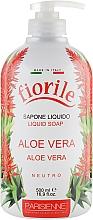 Düfte, Parfümerie und Kosmetik Flüssigseife mit Aloe Vera - Parisienne Italia Fiorile Aloe Vera Liquid Soap
