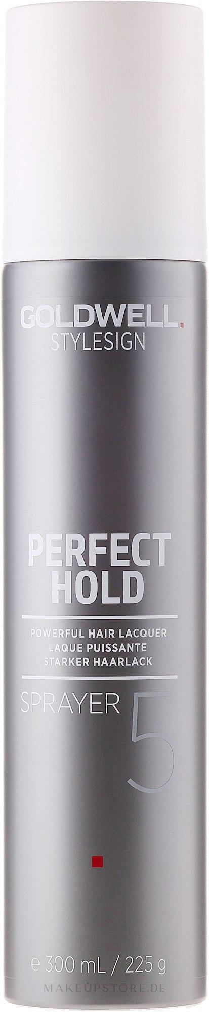 Haarlack Starker Halt - Goldwell Stylesign Perfect Hold Sprayer Powerful Hair Lacquer — Bild 300 ml