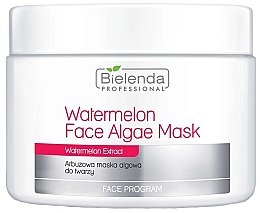 Düfte, Parfümerie und Kosmetik Alginat-Gesichtsmaske mit Wassermelonenextrakt - Bielenda Professional Watermelon Face Algae Mask (Nachfüller)