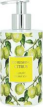 Düfte, Parfümerie und Kosmetik Flüssigseife - Vivian Gray Refreshing Citrus Cream Soap