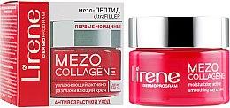 Düfte, Parfümerie und Kosmetik Feuchtigkeitsspendende und glättende Tagescreme gegen die ersten Falten SPF 10 - Lirene Mezo Collagene