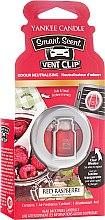 Düfte, Parfümerie und Kosmetik Auto-Lufterfrischer Red Raspberry Duftclips - Yankee Candle Red Raspberry Smart Scent Vent Clip