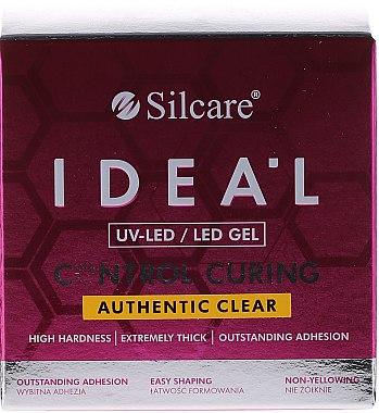 Transparentes Nagelgel - Silcare Ideal UV/LED Gel — Bild N3