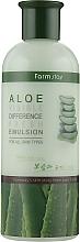 Düfte, Parfümerie und Kosmetik Erfrischende Gesichtsemulsion mit Aloe-Extrakt - FarmStay Visible Difference Fresh Emulsion Aloe