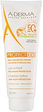 Düfte, Parfümerie und Kosmetik Sonnenschutzlotion für Kinder SPF 50+ - A-Derma Protect Kids Children Lotion Very High Protection SPF 50+
