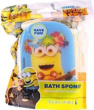 Düfte, Parfümerie und Kosmetik Kinder-Badeschwamm Kevin gelb - Suavipiel Minnioins Bath Sponge