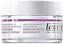 Düfte, Parfümerie und Kosmetik Straffende Nachtcreme mit Hyaluronsäure und Karanjaöl - Lavera Firming Night Cream
