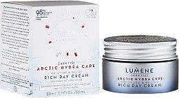 Düfte, Parfümerie und Kosmetik Reichhaltige Tagescreme mit Hafer und Rapsöl - Lumene Arctic Hydra Moisture Relief Cream