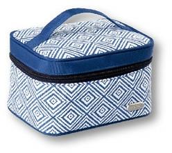 "Kosmetiktasche ""Rhombus"" blau 93784 - Top Choice — Bild N1"