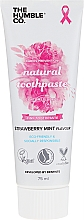 Düfte, Parfümerie und Kosmetik Natürliche Zahnpasta mit Erdbeere und Minze - The Humble Co. Natural Toothpaste Strawberry Mint