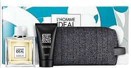 Düfte, Parfümerie und Kosmetik Guerlain L'Homme Ideal Cologne - Duftset (Eau de Toilette/100ml + Duschgel/75ml + Kosmetiktasche)