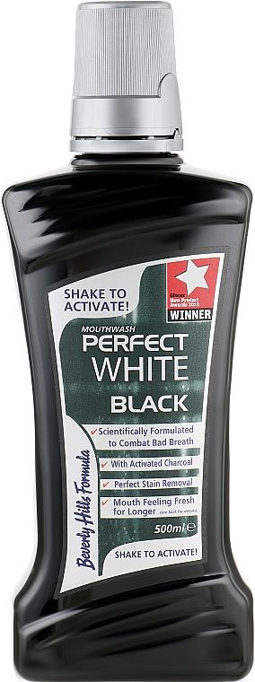 Mundwasser - Beverly Hills Formula Perfect White Black Mouthwash — Bild N1