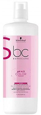 Mizellenshampoo für gefärbtes Haar - Schwarzkopf Professional Bonacure Color Freeze Rich Micellar Shampoo — Bild N3