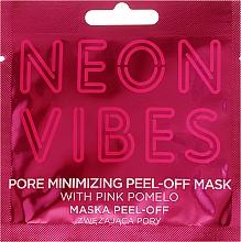 Düfte, Parfümerie und Kosmetik Peel-Off-Maske für das Gesicht zur Porenverfeinerung mit rosa Pampelmuse - Marion Neon Vibes Pore Minimizing Peel-off Mask