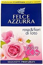 Düfte, Parfümerie und Kosmetik Duftbeutel Rose & Flowers Of Lotus - Felce Azzurra Sachets Rose and Flowers Of Lotus