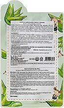 Feuchtigkeitsspendende und glättende Tuchmaske mit Aloe Vera und Hyaluronsäure - Sally's Box Loverecipe Aloe Mask — Bild N2