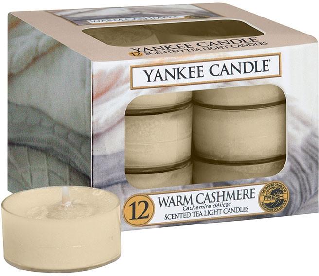 Teelichter Warm Cashmere - Yankee Candle Scented Tea Light Warm Cashmere — Bild N1