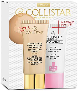 Kosmetikset - Collistar Deep Moisturizing Ambra (Gesichtsgrundierung 30ml + Gesichtscreme 25ml) — Bild N1