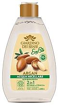 Düfte, Parfümerie und Kosmetik 2in1 Mizellen-Reinigungswasser für das Gesicht mit Bio Argan - Giardino Dei Sensi Eco Bio Argan Micellar Water