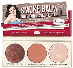 Düfte, Parfümerie und Kosmetik Lidschatten-Palette - TheBalm Smoke Balm Vol. 4 Foiled Eyeshadow Palette
