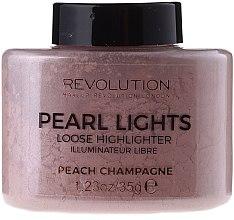 Düfte, Parfümerie und Kosmetik Illuminierender loser Gesichtspuder - Makeup Revolution Pearl Lights Loose Highlighter