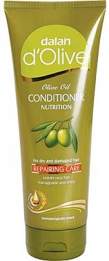 Regenerierende Haarspülung für trockenes und strapaziertes Haar - Dalan D'Olive Repairing Care Conditioner — Bild N1