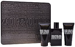 Düfte, Parfümerie und Kosmetik Zadig & Voltaire This is Him - Duftset (Eau de Toilette 50ml + Duschgel 2x50ml)