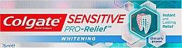 Düfte, Parfümerie und Kosmetik Aufhellende Zahnpasta Sensitive Pro-Relief - Colgate Snsitive Pro-Relief Whitening Toothpaste