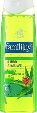Shampoo für fettiges Haar - Pollena Savona Familijny Aloe & Vitamins Shampoo — Bild N1