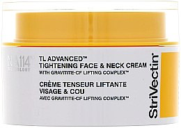 Düfte, Parfümerie und Kosmetik Straffende Anti-Aging Gesichts- und Halscreme mit Lifting-Effekt - StriVectin Tl Advanced Tightening Face And Neck Cream