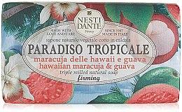 Düfte, Parfümerie und Kosmetik Naturseife Hawaiian Maracuja & Guava - Nesti Dante Firming Vegetable Soap Paradiso Tropicale Collection
