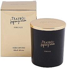 Düfte, Parfümerie und Kosmetik Duftkerze Black Divine - Teatro Fragranze Uniche Nero Divino Scented Candle