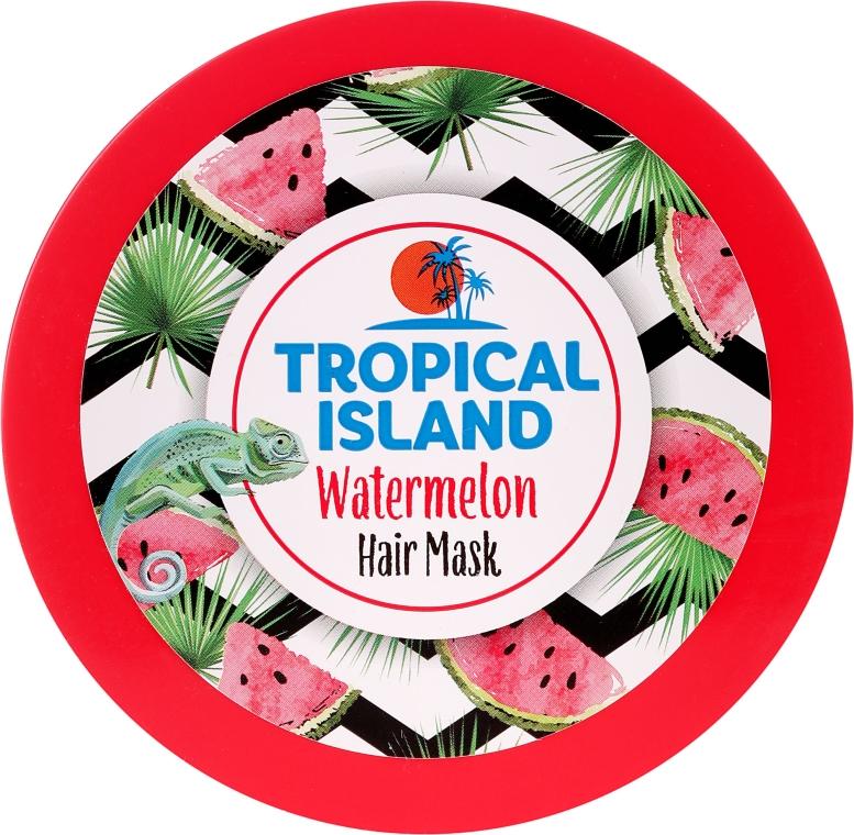 Feuchtigkeitsspendende Haarmaske mit Wassermelone - Marion Tropical Island Watermelon Hair Mask