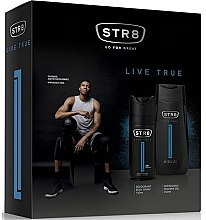 Düfte, Parfümerie und Kosmetik STR8 Live True - Duftset (Deodorant/150ml + Duschgel/250ml)
