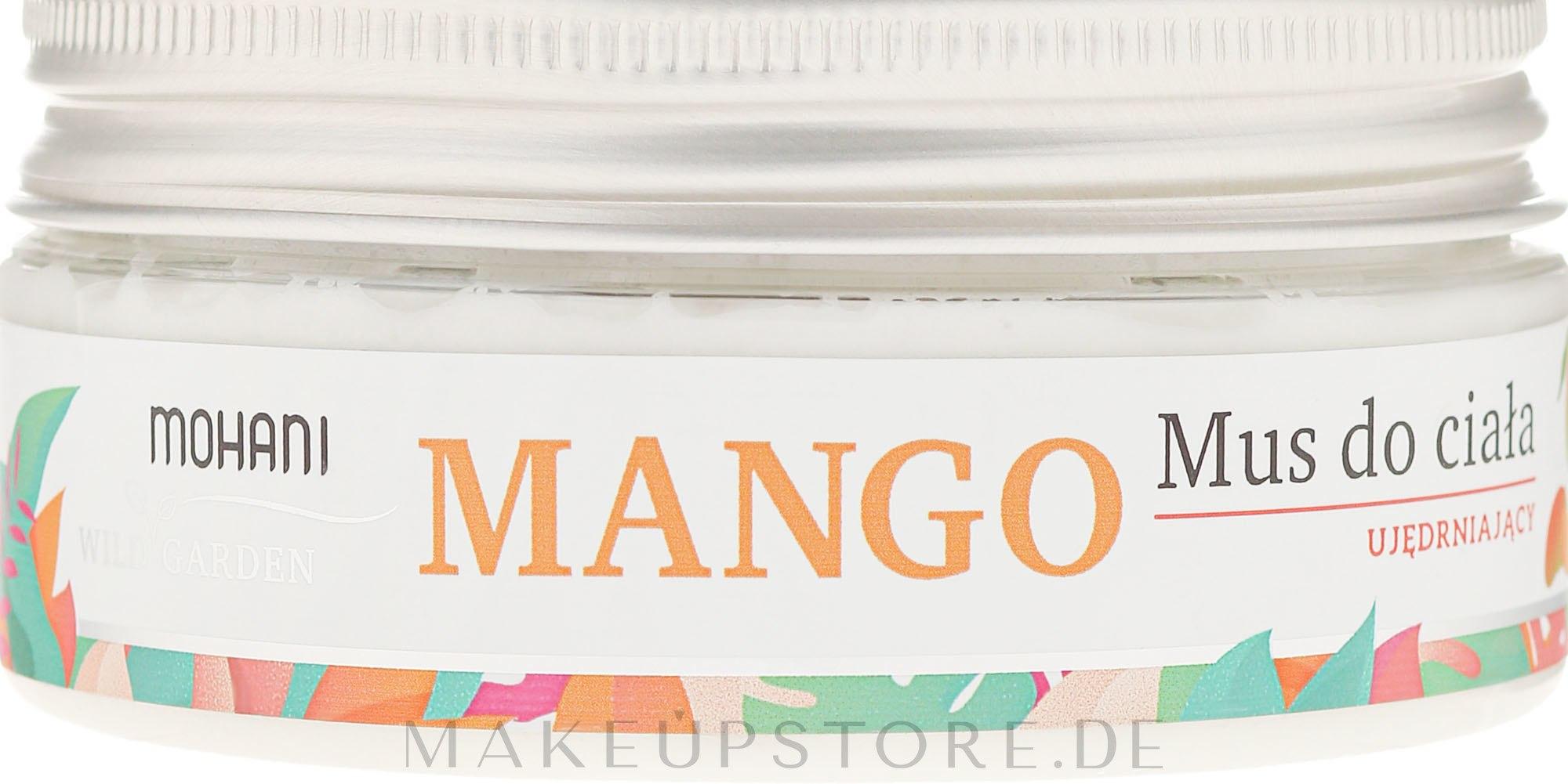 Körpermousse - Mohani Natural Mango Mousse — Bild 120 g