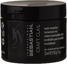 Düfte, Parfümerie und Kosmetik Mattierende Haarmaske mit Tonerde und Minaralien - Sebastian Professional Form Craft Clay Remoldable-Matte
