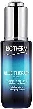 Düfte, Parfümerie und Kosmetik Anti-Aging-Serum - Biotherm Blue Therapy Serum