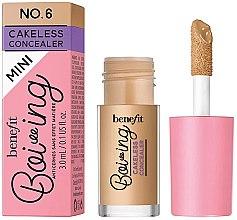 Düfte, Parfümerie und Kosmetik Flüssiger Concealer mit hoher Deckkraft - Benefit Boi-ing Mini Cakeless Concealer