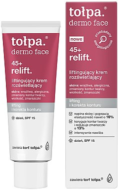Regenerierende Liftingcreme für den Tag - Tolpa Dermo Face Relift 40+ Day Cream SPF15