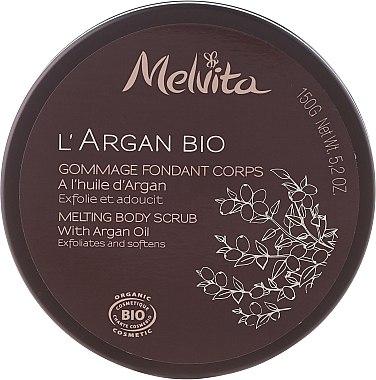 Glättendes Körperpeeling - Melvita L'Argan Bio Body Scrub — Bild N1