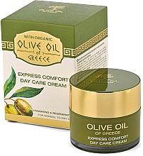 Düfte, Parfümerie und Kosmetik Tagescreme für normale bis trockene Haut mit Olivenöl - BioFresh Olive Oil Of Greece Express Comfort Day Care Cream