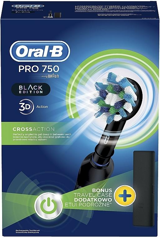 Elektrische Zahnbürste Pro 2 2500 Black Edition - Oral-B Pro 2 2500 Black Edition — Bild N2